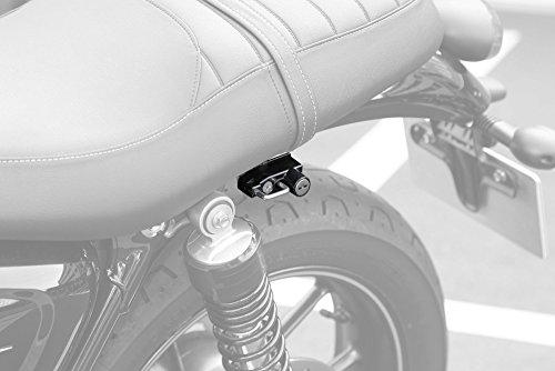 キジマ(KIJIMA) ヘルメットロック ブラック (トライアンフ) '16~ ボンネビルT100 ストリートツイン スクランブラー HTR-05006
