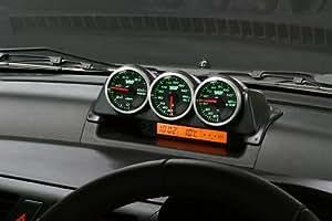 MONSTER SPORT メーターポッド[フラットグレー]/3連 φ52mm スイフト スポーツ ZC31S  ZC ZD11 21S ZC71S 油温 水温 油圧 ブースト 追加メーター/853140-4600M