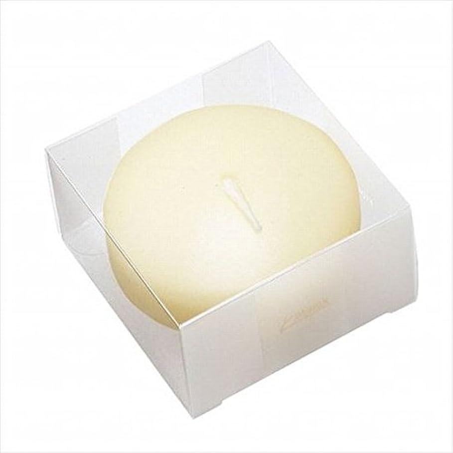 抽選バブルアブストラクトkameyama candle(カメヤマキャンドル) プール80(箱入り) 「 アイボリー 」 キャンドル 80x80x45mm (A7069050)