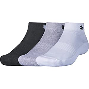 (アンダーアーマー)UNDER ARMOUR UA 3 PIECES PILE LOW CUT SOCKS 1295331 967 ASSORTED/ASSORTED MD