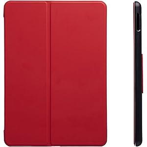 Amazonベーシック 2017年モデルiPad用スマートケース 自動ウェイク/スリープカバー 9.7インチ レッド