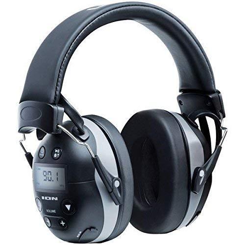 ION Audio Bluetooth対応 防音ヘッドフォン 遮断値27db ノイズ軽減 電話応対 AM/FMラジオ搭載 Tough Sounds II