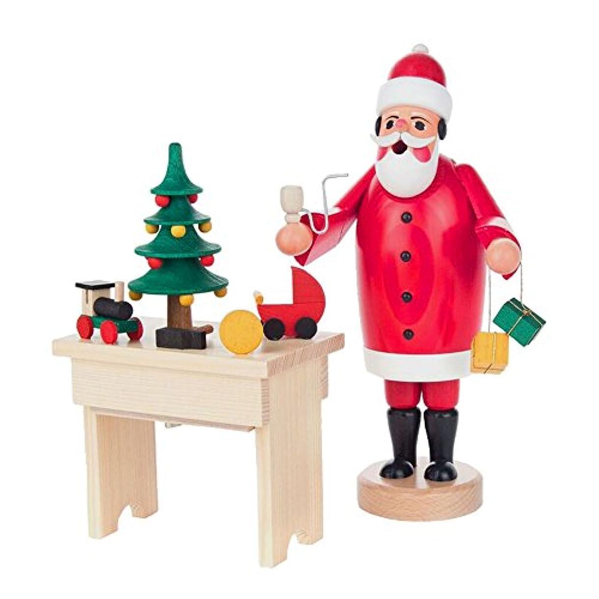 梨飾る広々としたAlexandor TaronホームDecor Dregeno Santa atテーブルIncense Burner 8.75