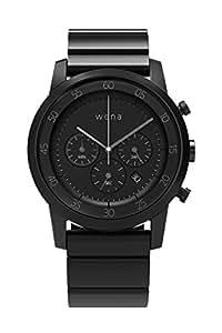 [wena project] wena wrist Chronograph Premium Black WN-WC01B