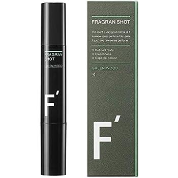F'(エフダッシュ) フレグランショット グリーンウッドの香り 練香水