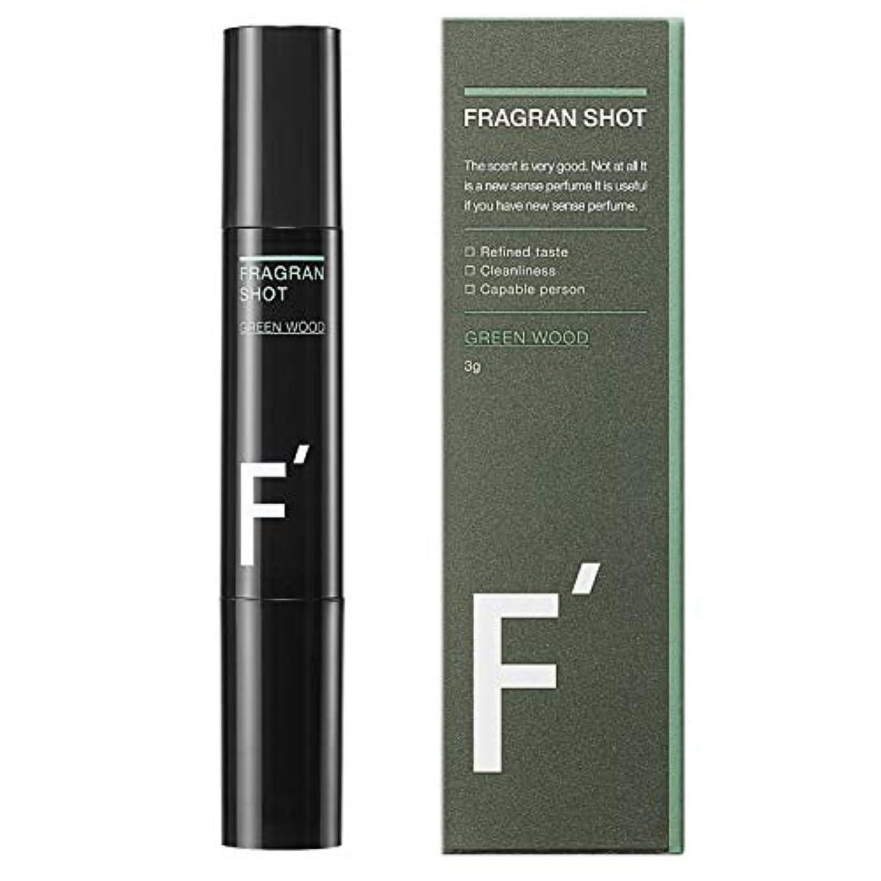 リマークグリーンランドガイドF'(エフダッシュ) フレグランショット グリーンウッドの香り 男性用練香水