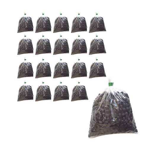 無農薬黒豆 渡部信一さんの黒豆20kg(1kg×20袋) 無農薬・無化学肥料栽培30年の美味しい黒豆 「渡部信一さんは北海道・大雪山の麓で化学薬品とは無縁の農業を営んでいる生産者」