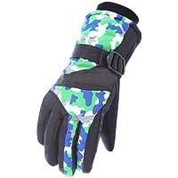 スノーボード手袋暖かい防水スキーグローブメンズサイクリング手袋、A