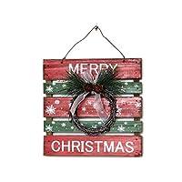 環境 クリスマスの装飾、屋内と屋外のアクセサリー、レストランホテルフロントデスクペンダント 非毒性 (Color : A)