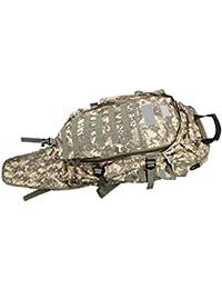 Perfk ショルダーバッグ バックパック リュック 水ボトル マルチポケット 戦術的 キャンプ 狩猟 防水 アウトドア 3色選べ