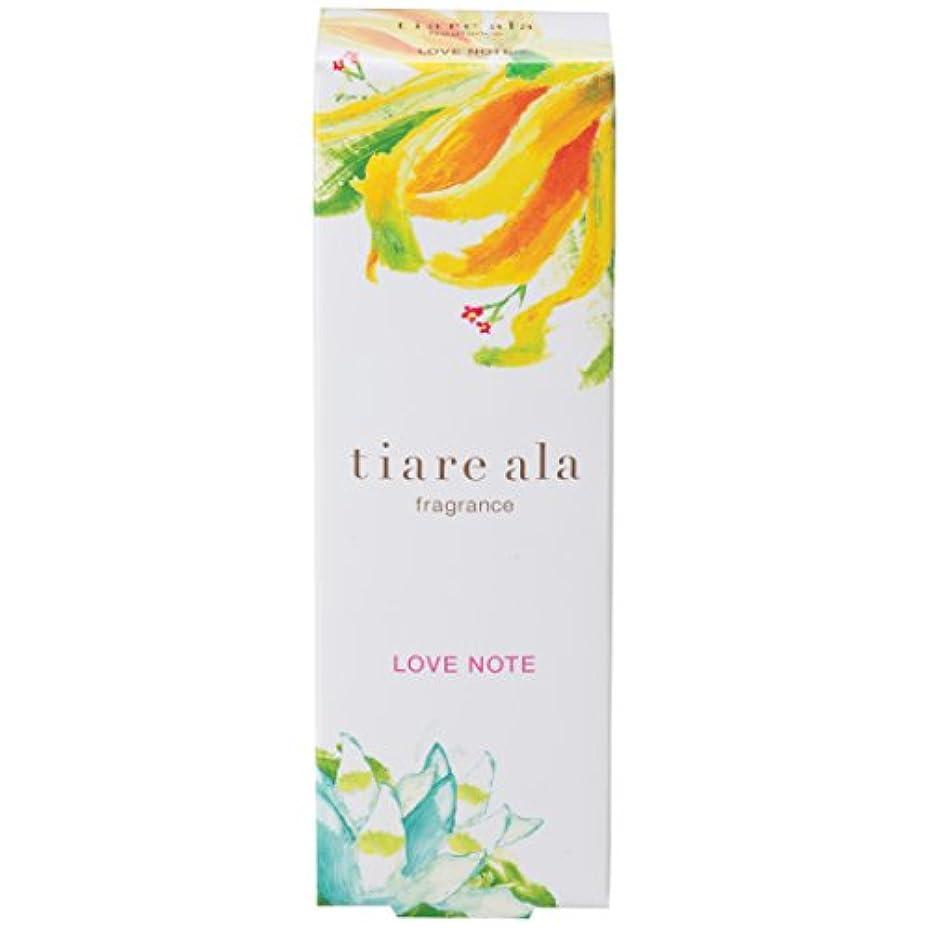 パトロールリズミカルな周りティアレアーラ フレグランス ラブノート 〈ネロリ & イランイランの香り〉 (14.5mL)