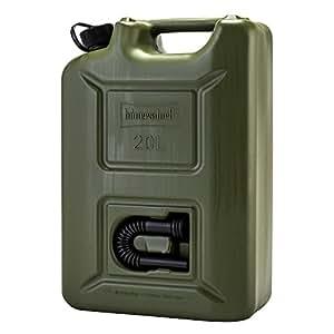 [ ヒューナースドルフ ] Hunersdorff 燃料タンク ポリタンク フューエルカンプロ 20L ウォータータンク 802000 オリーブ Olive FUEL CAN PRO 燃料 灯油 タンク キャニスター アウトドア キャンプ [並行輸入品]