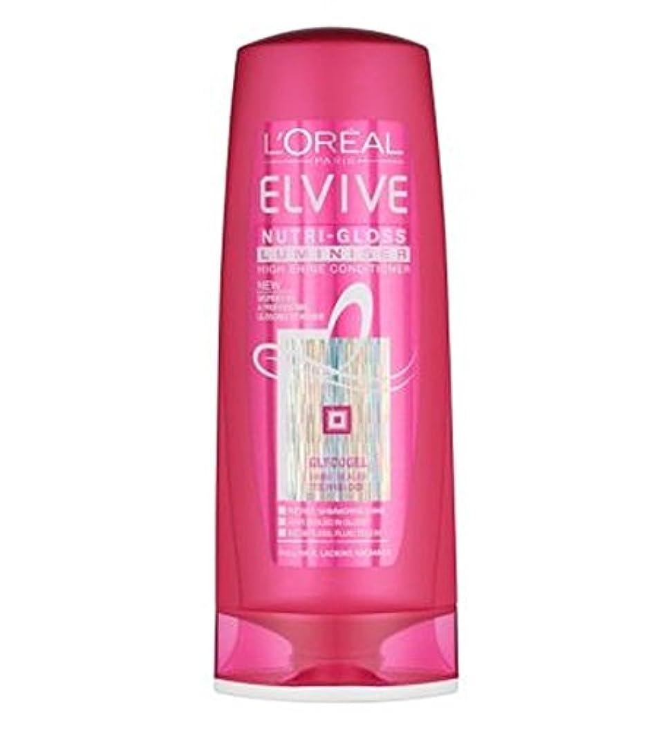 L'Oreal Elvive Nutri-Gloss Luminiser Conditioner 400ml - ロレアルElviveニュートリグロスLuminiserコンディショナー400ミリリットル (L'Oreal...