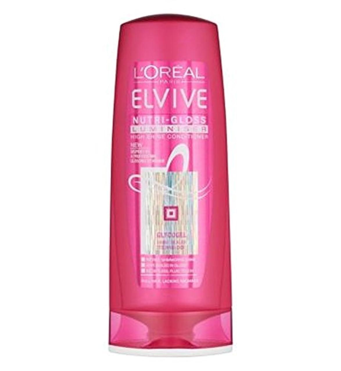 ロレアルElviveニュートリグロスLuminiserコンディショナー400ミリリットル (L'Oreal) (x2) - L'Oreal Elvive Nutri-Gloss Luminiser Conditioner...