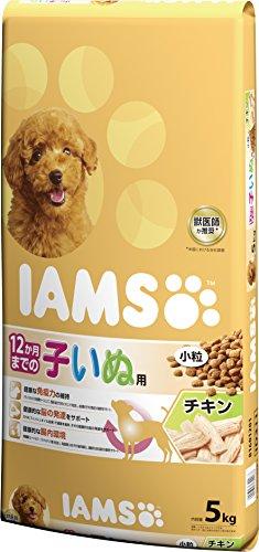 アイムス (IAMS) 12か月までの子いぬ用 チキン小粒 5kg [ドッグフード]