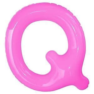 エアポップレターバルーン ピンク 「Q」 14...の関連商品7