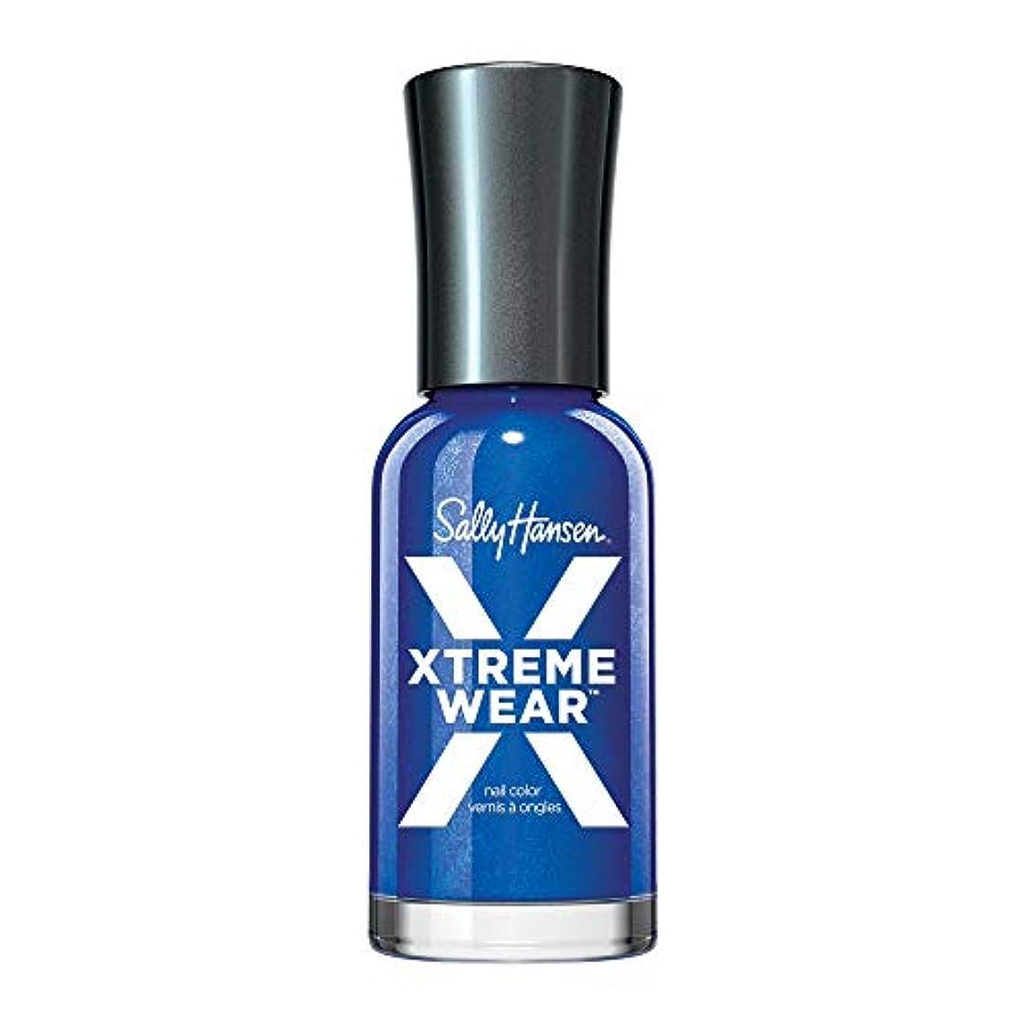 新鮮な勧告効能SALLY HANSEN Hard As Nails Xtreme Wear - Pacific Blue (並行輸入品)
