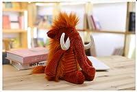 ユニコーン おもちゃ 可愛い長い髪動物 ユニコーン 象 ライオン イノシシ ドラゴンの毛糸の人形 おもちゃ まくら 誕生日 プレゼント 35CM e