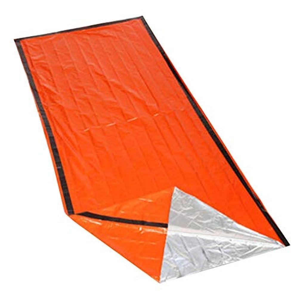 ビスケット寄付悪因子Profeel 屋外のサバイバルハイキングキャンプのための熱防水緊急寝袋
