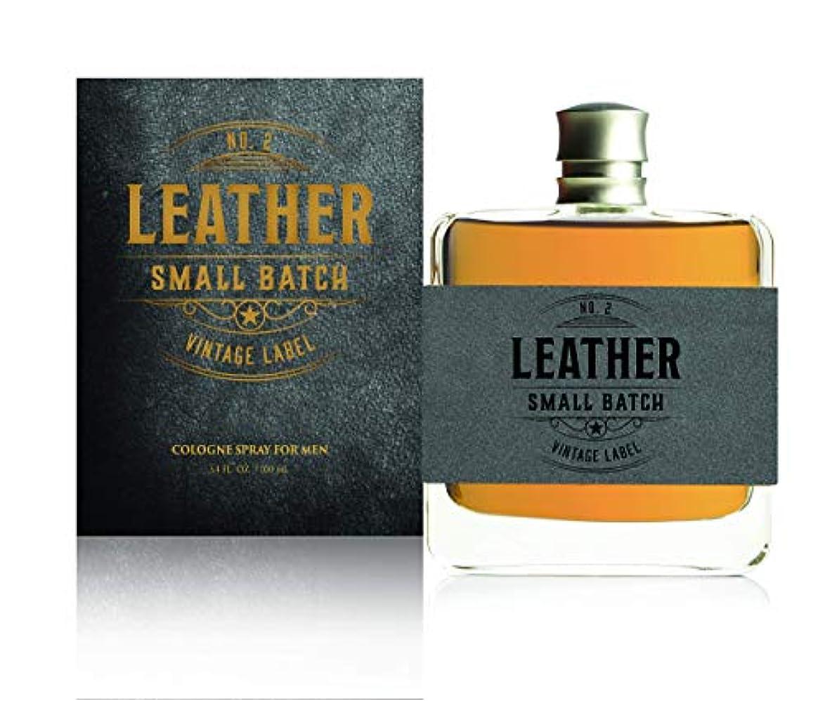 抜本的な慎重必要性Tru Fragrance & Beauty 男性用レザー第2小ロットヴィンテージはラベル-本格フレグランス香水 - 大胆な男性の香り - ウッディノート - 3.4オズ