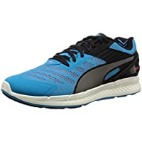PUMA Men's Ignite V2, Atomic Blue-Aged Silver-Red, Running Shoes