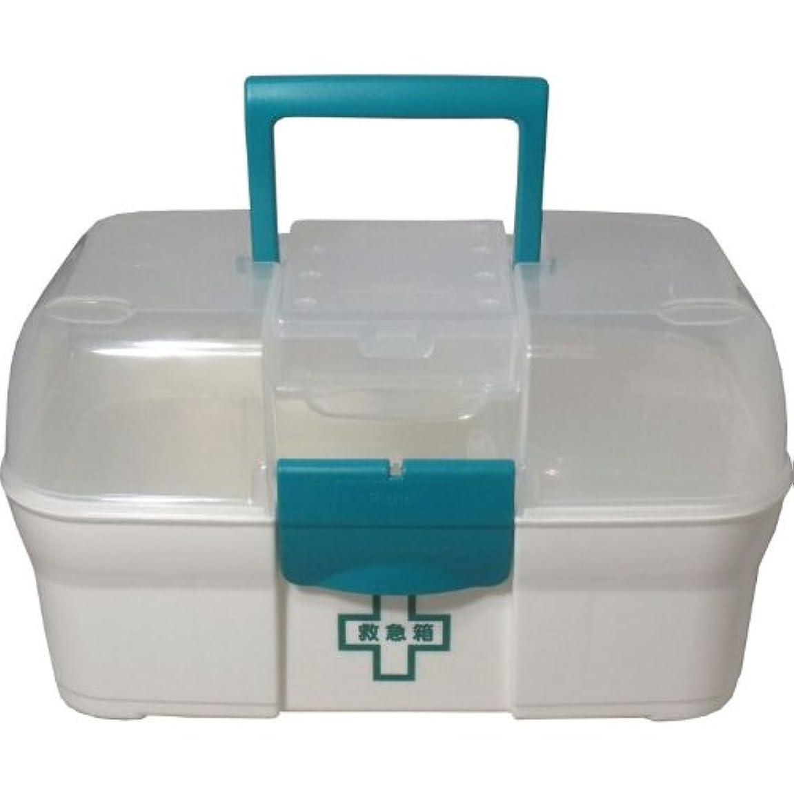 リッチェル救急箱 プラスチック製 携帯ケース付き「5点セット」
