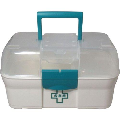 備薬等の携帯ケースとして利用!医療器具が、すっきり収納!リッチェル救急箱 プラス...