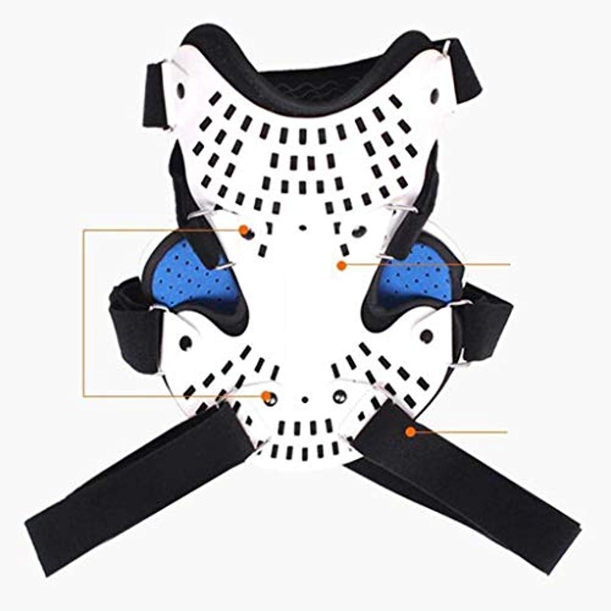 忘れっぽいシュリンクインフルエンザ首のマッサージャー、首の牽引装置 - 首と肩の痛みを軽減 - 担架首/家族は脊椎矯正を向上させます