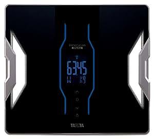 タニタ 体重・体組成計 インナースキャンデュアル スマホ対応 ブラック RD-903-BK