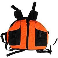 Fenteer ライフジャケット カヌー 2色選択 インフレータブル 調整可能 カヤッキング ボート 軽量 ラフティング