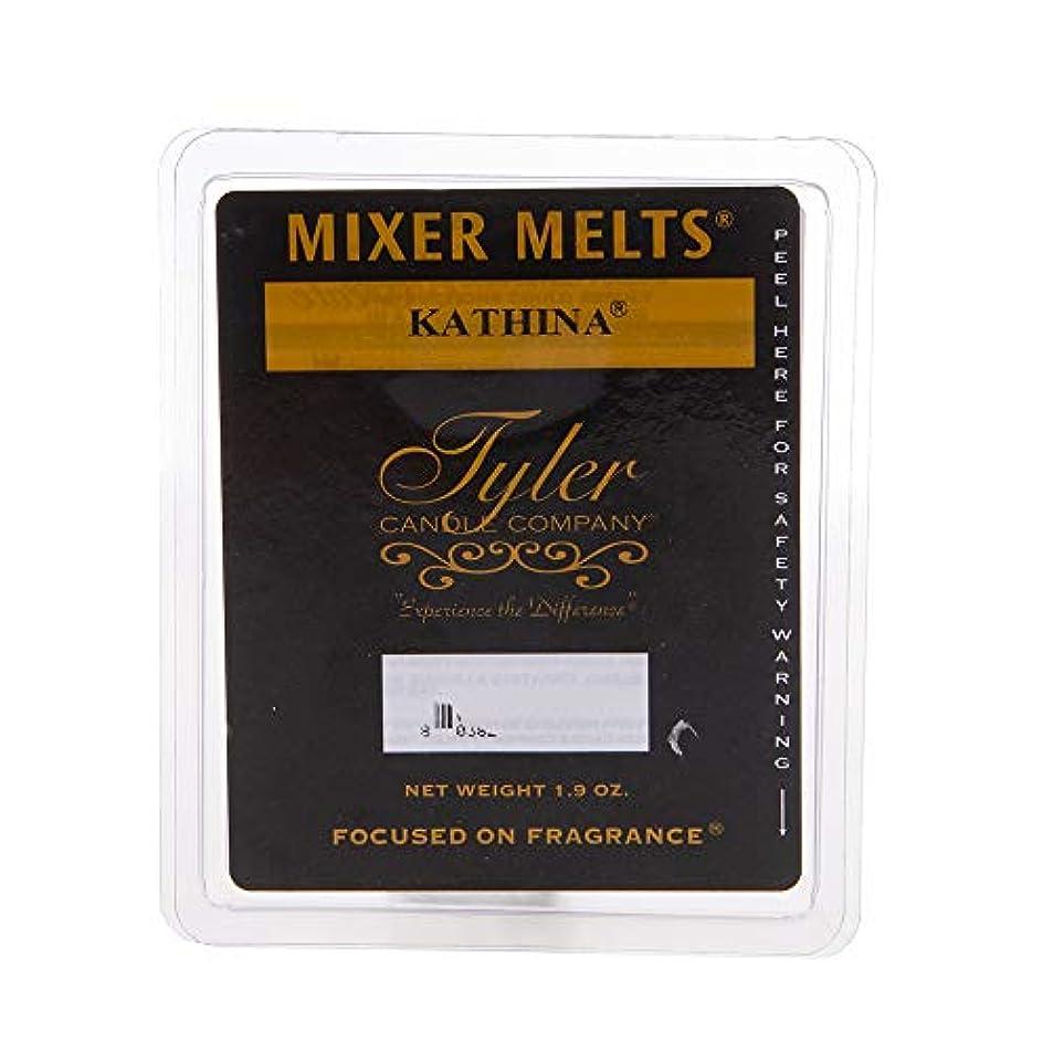 に応じてに対応する検出するTyler Candles Mixer Melts - Kathina by Tyler Candles