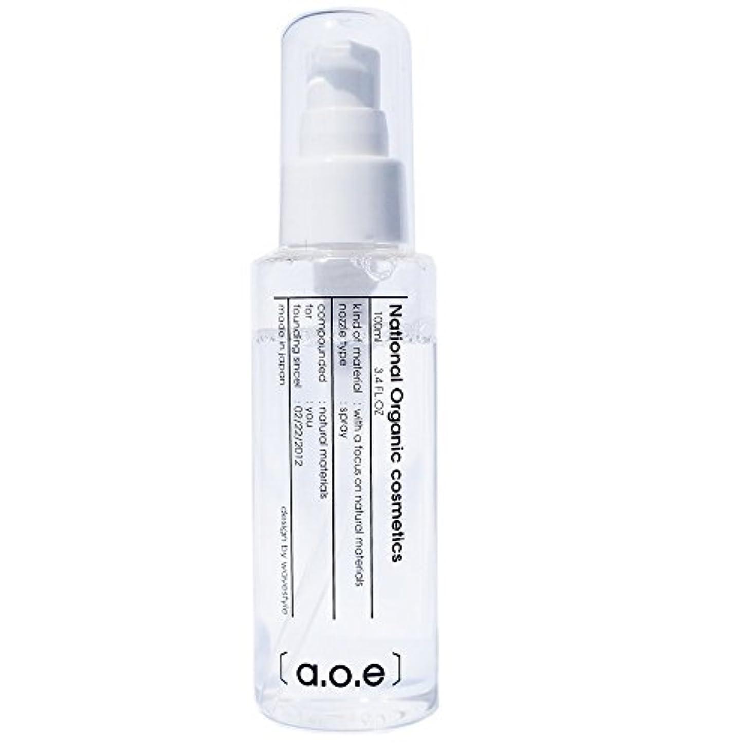 aoe 【ハーバル美容液配合】<肌が弱い方用:敏感性乾燥肌>ブーストトナー【 オーガニック 化粧水 】