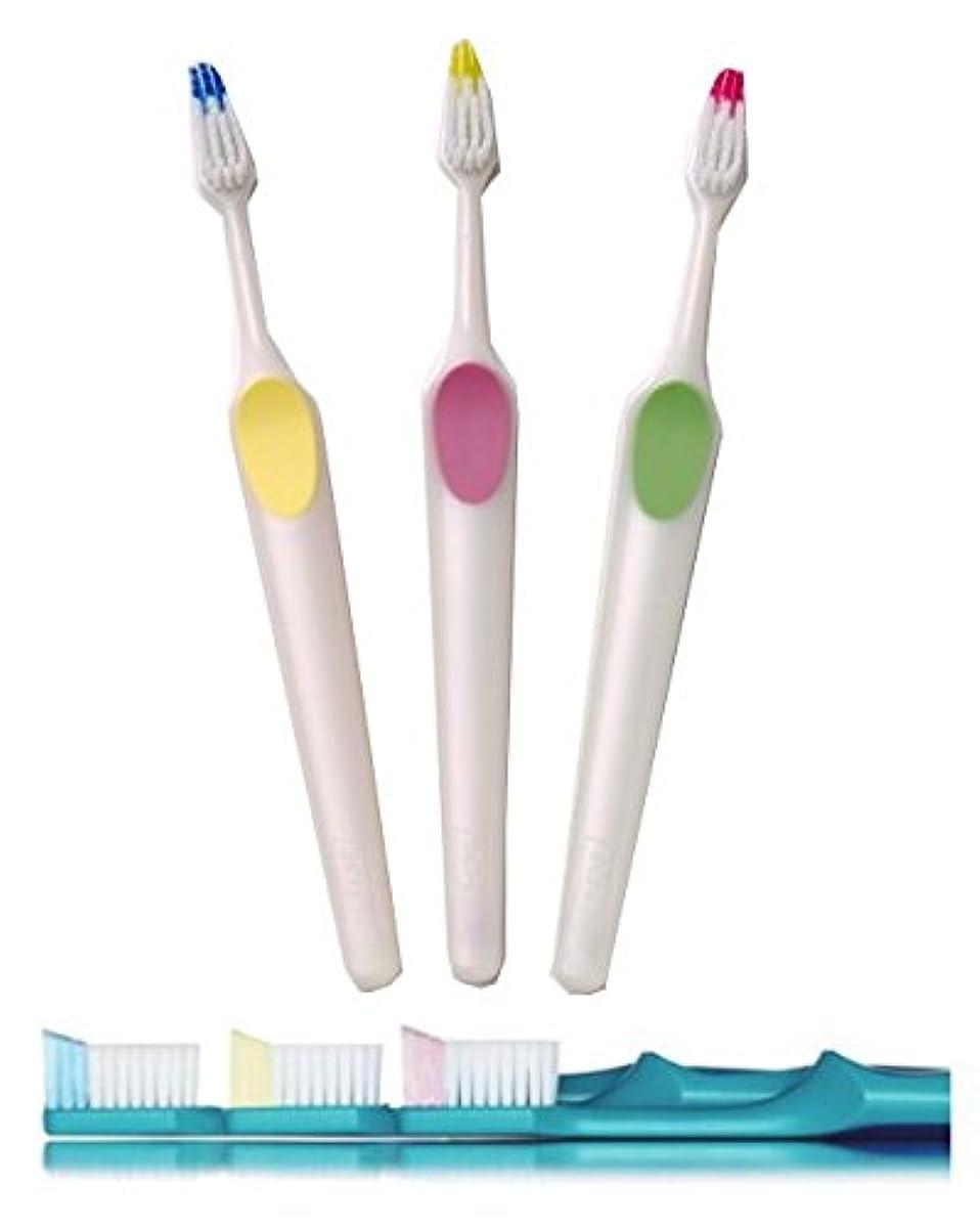 遺跡ピルファーまぶしさクロスフィールド TePe テペ ノバ(Nova) 歯ブラシ 1本 (ミディアム)