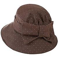 (チェリーレッド) CherryRed レディース 日焼け防止 UVカット 紫外線対策 旅行日除け帽子 自転車 帽子 折り畳み つば広帽子