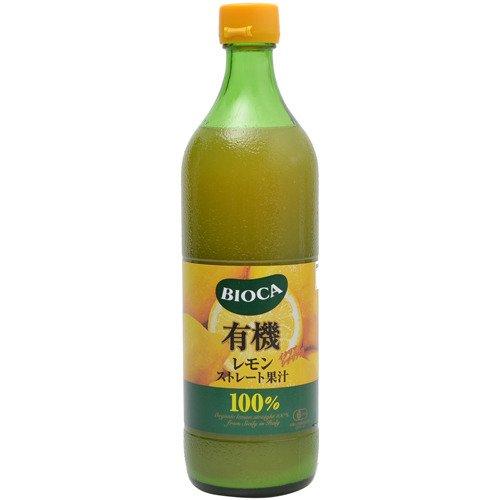 ビオカ 有機レモンストレート果汁100% 700ml
