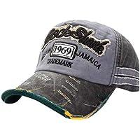 Dolloress Unisex Cotton Soft Baseball Cap Dad Hat Polo Cap Golf Cap Retro Old Casual Street Style Adjustable for Men Women
