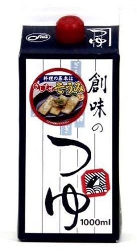 創味のつゆ 1000ml /創味食品(6本)