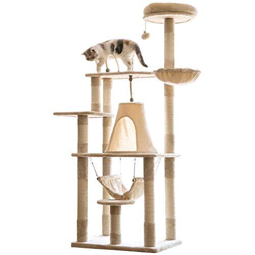 モロ『富士山ような猫ハウス キャットタワー』