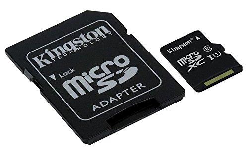 Professionalキングストン256GB Sony Xperia c5Ultra microSDXCカードwithカスタム書式と標準SDアダプタ。(クラス10、UHS - I )