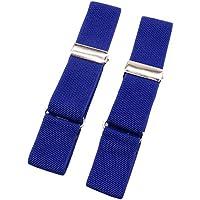 MENDENG Unisex Elastic Armbands Shirt Garters Sleeve Cuffs Holders Decoration