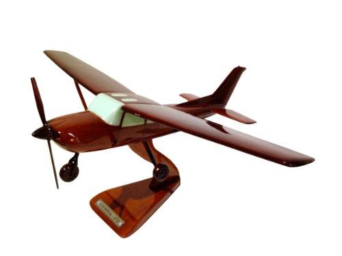 MocPro木製エアプレーンモデル ハンドメイド木製飛行機模型 セスナ172 Lsize