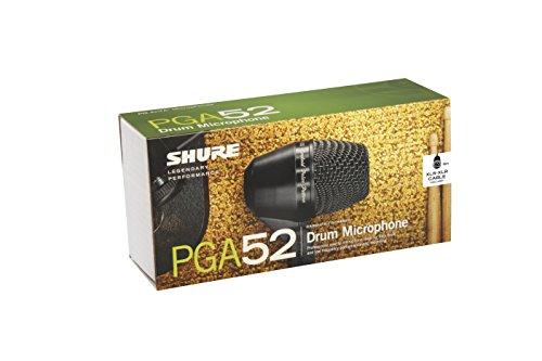 シュアー SHURE PGA52-XLR ダイナミック型マイクロホン XLRケーブル付き) ワイヤレスマイク