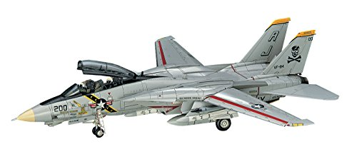 ハセガワ 1/72 アメリカ海軍 F-14A トムキャット オツ線 大西洋空母航空団 プラモデル E14