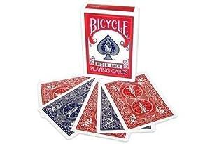 自転車トランプ マジック 2 倍バック レッド & ブルー Bicycle Magic Double Back Playing Cards Red & Blue