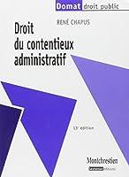 Droit du contentieux administratif (13e édition)