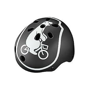 BRIDGESTONE(ブリヂストン) bikke ジュニアヘルメット CHBH5157 B371582DG ジュニア (頭囲 51cm~57cm)