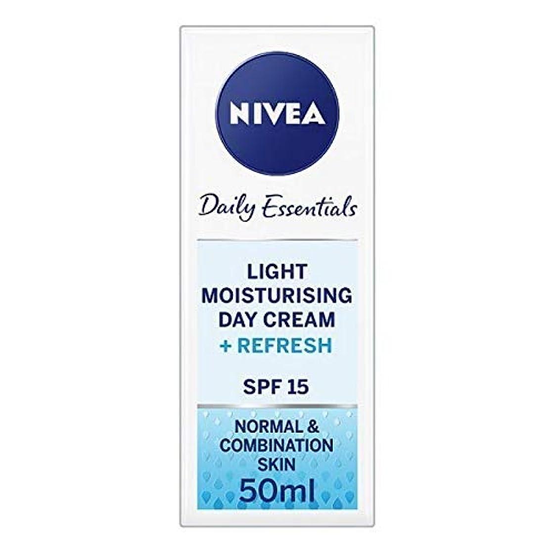 [Nivea ] ニベアフェイスクリームライトモイスチャライザー、50ミリリットル - NIVEA Face Cream Light Moisturiser, 50ml [並行輸入品]