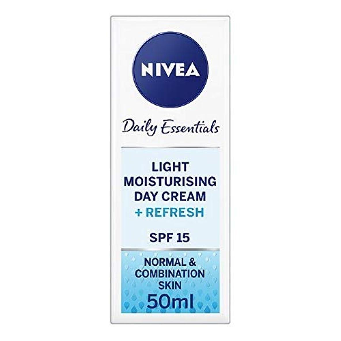 じゃない試用するだろう[Nivea ] ニベアフェイスクリームライトモイスチャライザー、50ミリリットル - NIVEA Face Cream Light Moisturiser, 50ml [並行輸入品]