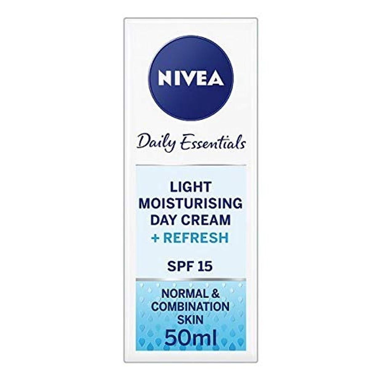 霜覗く素晴らしい良い多くの[Nivea ] ニベアフェイスクリームライトモイスチャライザー、50ミリリットル - NIVEA Face Cream Light Moisturiser, 50ml [並行輸入品]