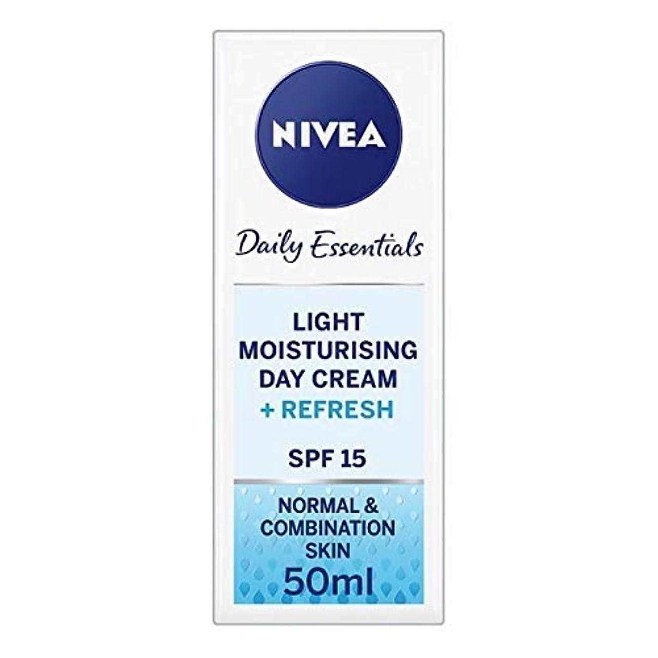 ギャップ薬理学くま[Nivea ] ニベアフェイスクリームライトモイスチャライザー、50ミリリットル - NIVEA Face Cream Light Moisturiser, 50ml [並行輸入品]